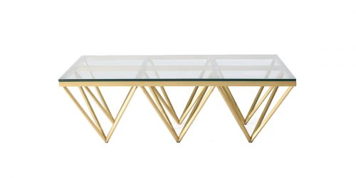Carnot Coffee Table Clear