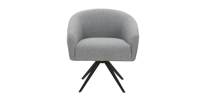 Angie Lounge Chair Gray