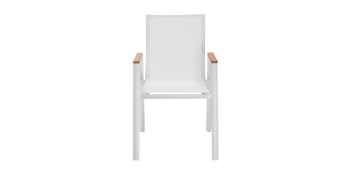 Aviana Outdoor Dining Chair White