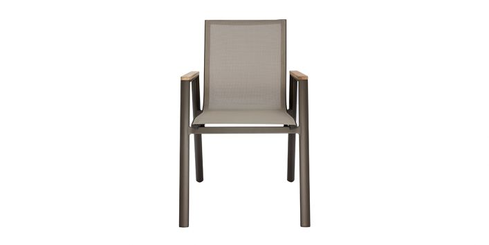 Aviana Outdoor Dining Chair Taupe