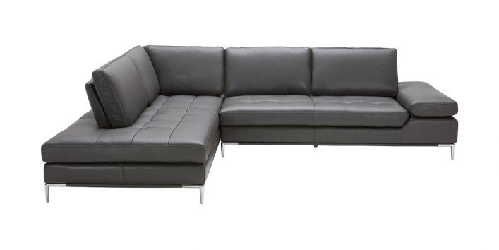 Empire Left Sofa Dark Gray