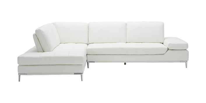 Empire Left Sofa White