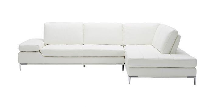 Empire Right Sofa White