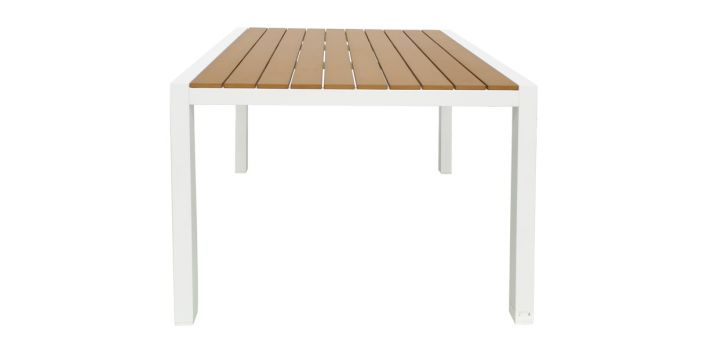 Fidji Outdoor Dining Table White