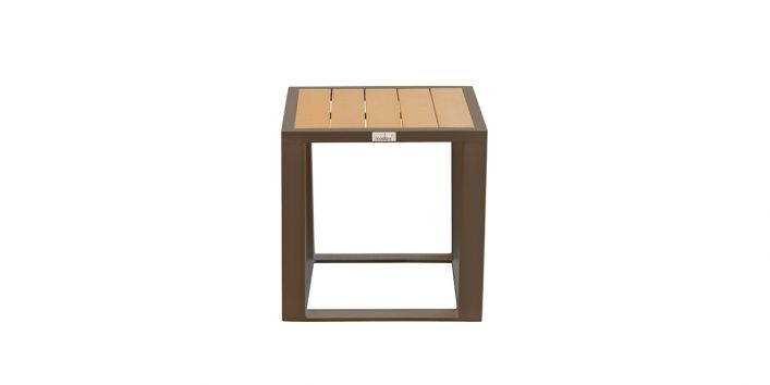 Fidji Outdoor Side Table Taupe