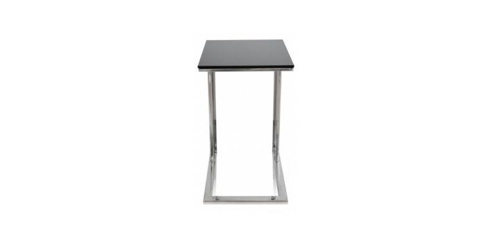 Khloe Side Table Black