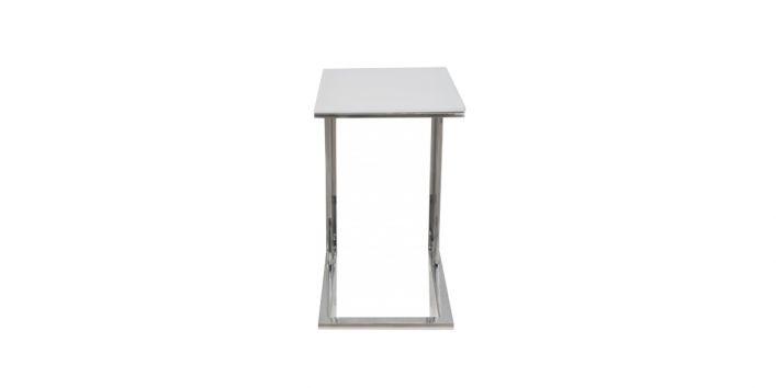Khloe Side Table White