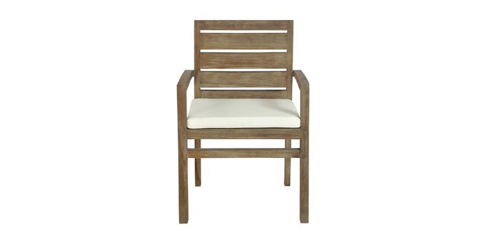 Laguna Outdoor Dining Chair White