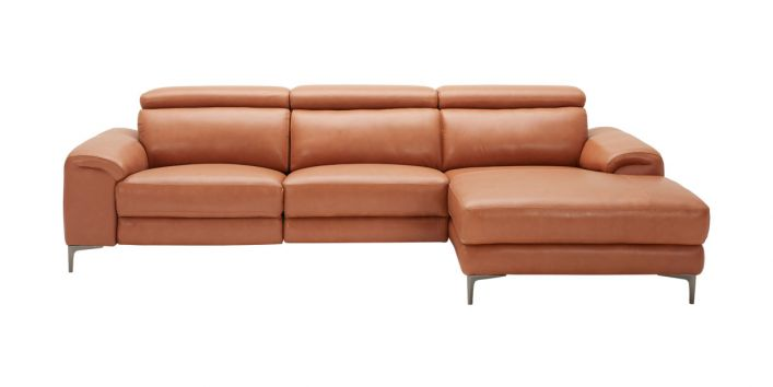 Thompson Sectional Motion Sofa Right Brown