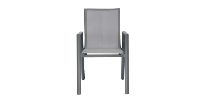 Vitale Outdoor Dining Chair Gray