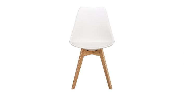 Niels Dining Chair White