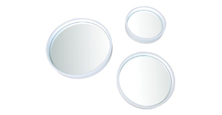 Trio Mirror White